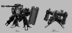 earth mech design by henryz