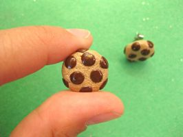 Mini Choco Chip Cookie Studs I by sunnyxshine