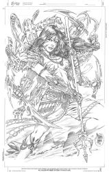Witchblade: Annual_2010 by MARCIOABREU7