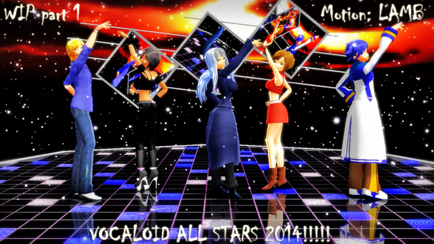 MMD Video (Vocaloid All Stars 2014) by AwesomePal