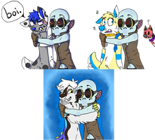 Hugs 4 Fluffs by CohpyCat