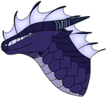 Astral Headshot | Wings of Fire OC by Owibyx