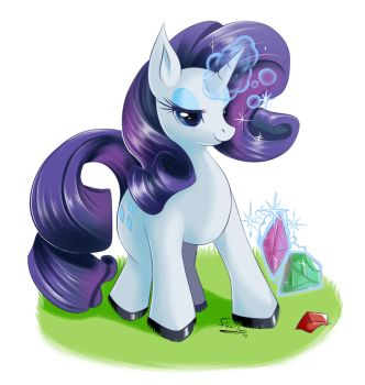 Rarity by howlzapper