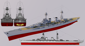 Crusader-class Battlecruiser by TheoComm