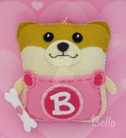 Boo Inspired Pomeranian Pouchy Pal by PouchyPals