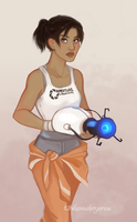 Chell by TwinklePowderySnow