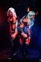 Scanty and Kneesocks by Haji-san