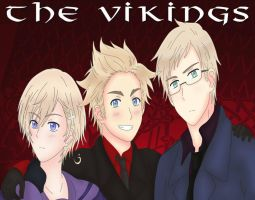 AT: The Viking Trio~ by KIMKIM14
