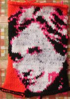 Knitted Faceman by limpet666