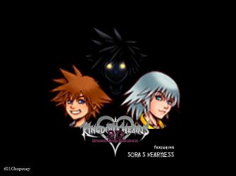 SORA'S HEARTLESS in DREAM DROP DISTANCE by 621Chopsuey