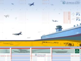 Domodedovo Airport Competition by iuneWind