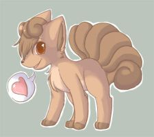 Vulpix ID V.2 by Hiccup-Chan