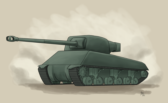 Exercise: A Humble Sherman by A3DNazRigar