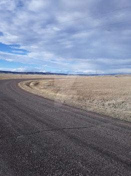 Back Roads in Wyoming