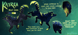 Kayrea Night Form Ref by Nightrizer