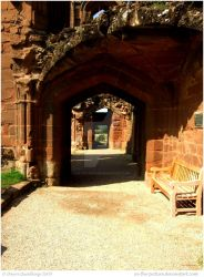 Kenilworth Castle III by In-the-picture
