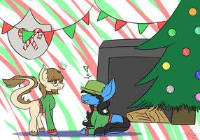 Christmas is here! -collab- by ChipTheDoritoQueen
