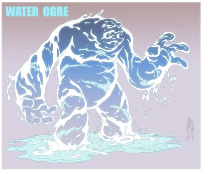 USM: WATER OGRE by Jerome-K-Moore