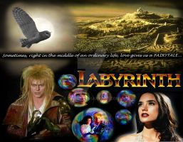 My Very Own Labyrinth Wallpaper by Zamos