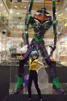 A girl and her Mecha by iwahoshi