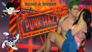 Zoro x Robin Punk Hazard Cosplay by SidneyRobin