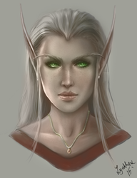 Blood Elf by Zynthex