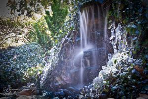 icey water fall by Tommy8250