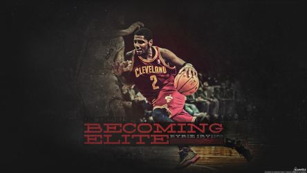 Kyrie Irving - Becoming Elite Wallpaper by OwenB23