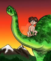 The Good Dinosaur: What Could've Been by moviedragon009v2