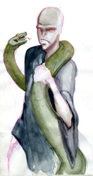 Watercolour Voldie by In-Like-Flynn