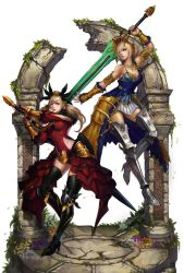 Vindictus Characters by Showmeyourmoves