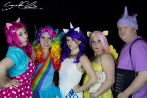 My Little Pony Cosplay- Silly Faces! by NerdySiren