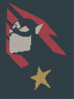 Captain America Cross-Stitch Pattern by CraftingGeek