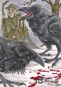 Classic Mythology II - Huginn and Muninn by temiel