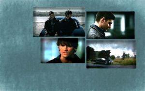 Dean and Sam Winchester by edwards-lover-7