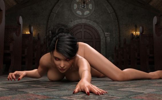 Succubus Queen - 83a by johngate2014