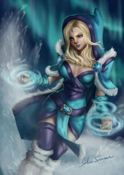 Who calls the Crystal Maiden? by Surkuhupainen