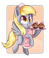 Derpy With Muffin's by mimijuliane
