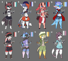Adopts Open 0/8 [Closed] by SavannaEve