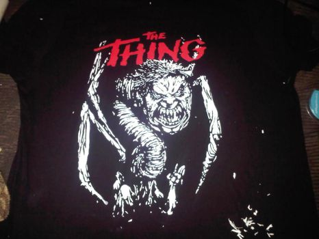 The Thing Shirt by etixmophead