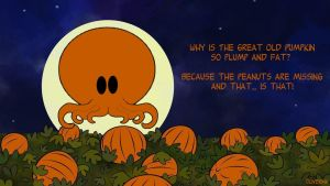 The Great Old Pumpkin by OliverInk