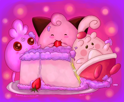 Cake Time by shucakes