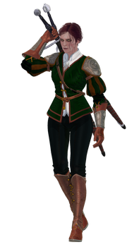 Neira Lugrianne (The Witcher OC) by NutellaPie