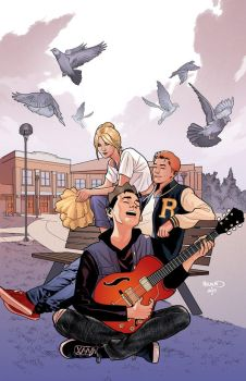 ARCHIE 2 variant cover by PaulRenaud