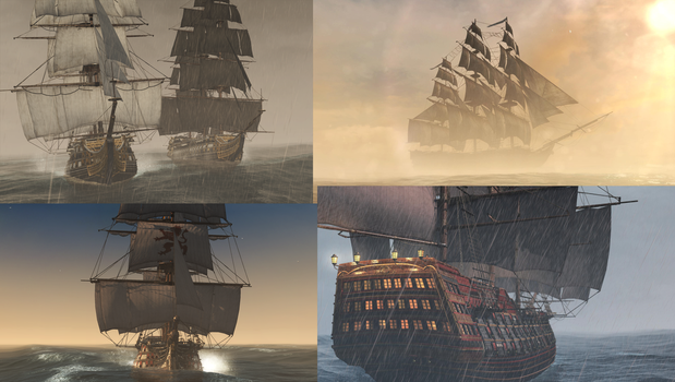 ~Colin's Fleet~ Ships of Legend by ColinTheP6M