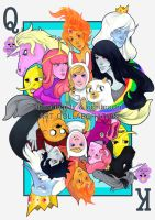 Adventure Time: K + Q by thunderjelly