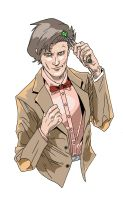 11th Doctor by R-Stormcrow