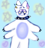 gloybe (this was almost my fursona) by kokichioma
