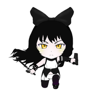Blake Belladonna(with Gambol Shroud) Nendoroid art by RyuaChan