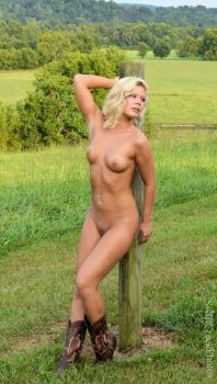 Emma - Fence Post by SwiftCreekPhotos
